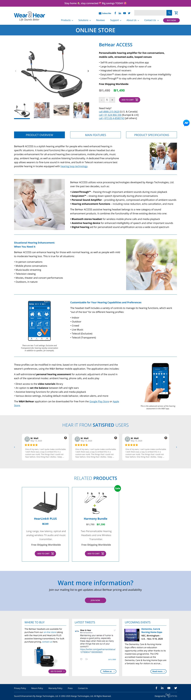 Wear&Hear Screenshot