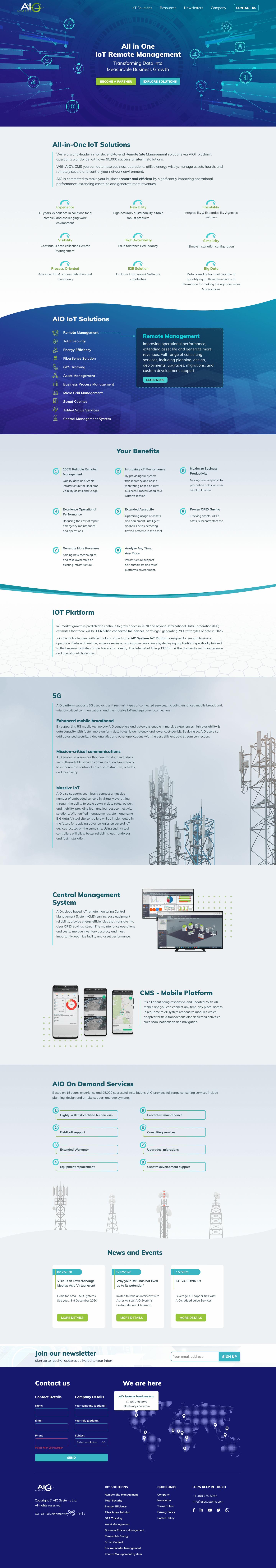 AIO Systems Screenshot